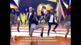 """Anitta canta """"Não Para"""" no Legendários (06/07)"""