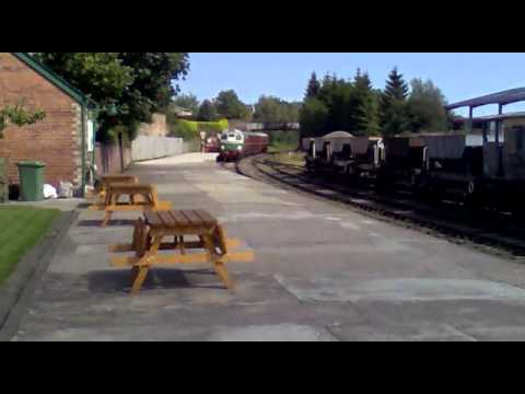 Caledonian Railway – Class 26 (26014) arriving at Brechin on 14/8/10