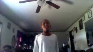 Young boy Terry Reynolds sings And I am telling you Cover