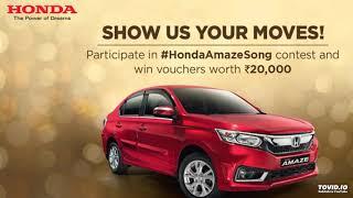 Honda Amaze Song