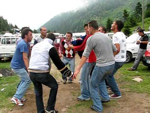Ayder yaylasında bir festival