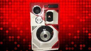 Caixa Trio com Target 15'' bob esponja som automotivo em casa