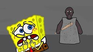 SpongeBob in Granny Horror Game Animation Part 2