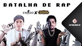 Batalha de Rap - Counter-Strike vs. League of Legends!