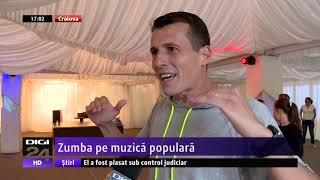 Zumba cu Andrei Osanu la stirile DIGI 24