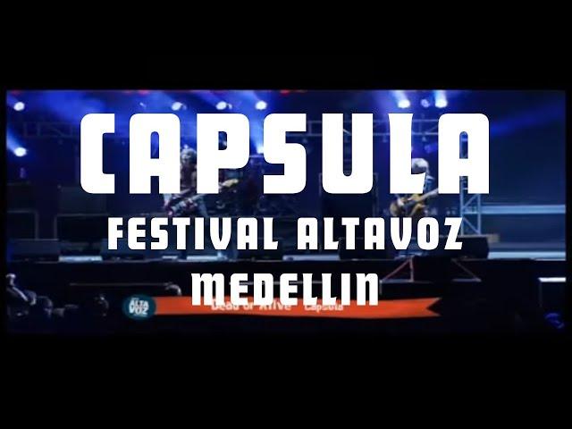 Capsula Festival Altavoz 2016, Medellín, Colombia 6 nov 2016 #capsulaband