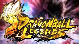 NEW MOBILE DBZ GAME!! OFFICIAL DRAGON BALL LEGENDS GAMEPLAY!