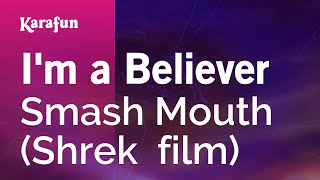 Karaoke I'm A Believer - Smash Mouth *