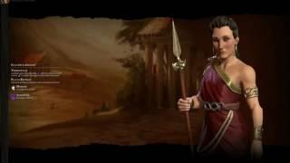 Civ6 Greek (Gorgo) Theme music -Ancient era