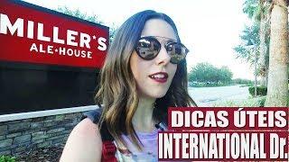 INTERNATIONAL Drive em Orlando   DICAS PASSEIOS, RESTAURANTES, programação a pé