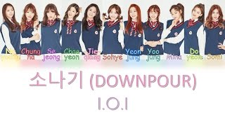 I.O.I - 소나기 (DOWNPOUR) [Color Coded Lyrics] (HAN|ROM|ENG)