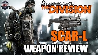 FN SCAR-L Assault Rifle Weapon Review - Tom Clancy's The Division Full Game Release