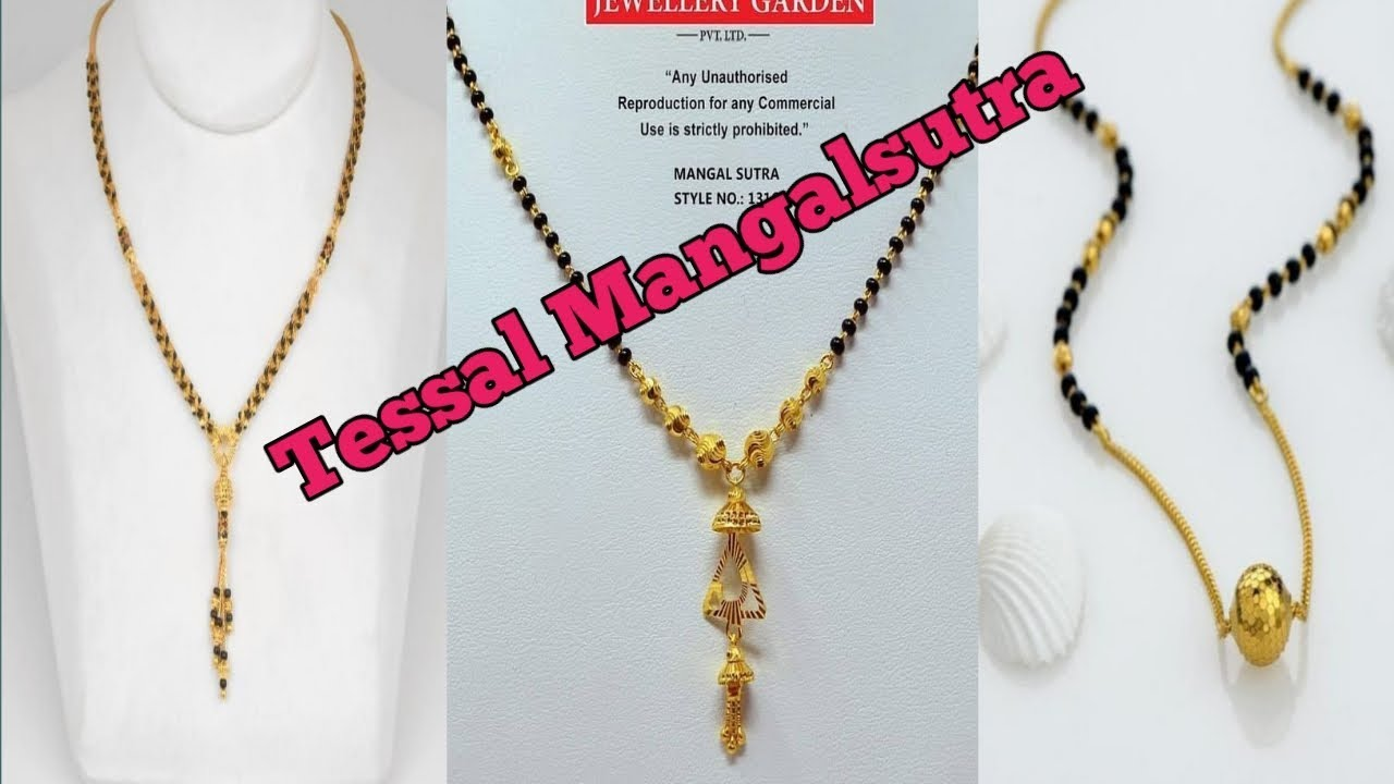 Download Thumbnail For Gold Mangalsutra Tessal Mangalsutra