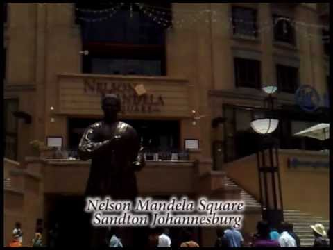 Mystical Nelson Mandela Square | Sandton South Africa