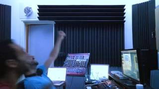 Bizzare contact - Late night studio session with Redrosid (bloopers)