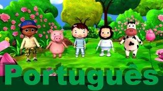 Gira, gira a roda | canções infantis | LittleBabyBum