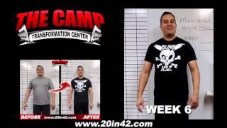 High Desert Fitness 6 Week Challenge Result - Mark Parral
