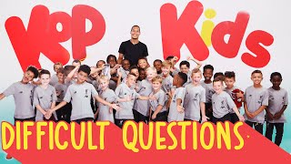 Virgil Van Dijk quizzed by 8 year-olds | 'Can you ring Jürgen Klopp?'