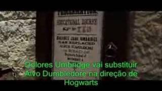 Harry Potter e a Ordem da Fênix trailer legendado