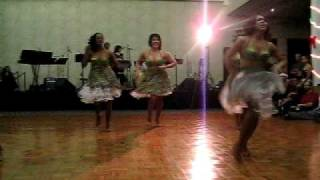 Salsa Diva Performance @ Four Points Sheraton Dec 2008