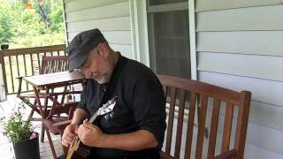 Larry Hutcherson  Slide Ukelele  Bad to the Bone  live /w looper