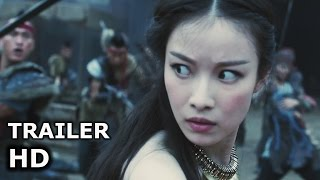 ENTER THE WARRIORS GATE (2017) FIGHT SCENE Action HD - Mark Chao - Fantasy