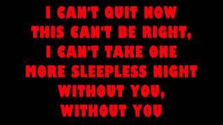 David Guetta - Without You - ft. Usher  lyrics letra
