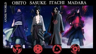 The Uchiha [AMV] { Sasuke, Itachi, Madara and Obito } Us Against The World HD
