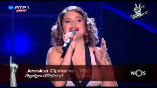 """Jessica Cipriano - """"All by myself"""" Celine Dion - Gala 3 - The Voice Portugal"""