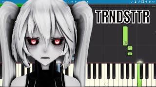 TRNDSTTR - Piano Tutorial - Black Coast ( Lucian Remix )