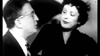 Edith Piaf et Michel Emer, extrait 1954