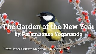 The Garden of the New Year by Paramhansa Yogananda