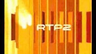 RTP2 orange ident / separador laranja 2007-2008