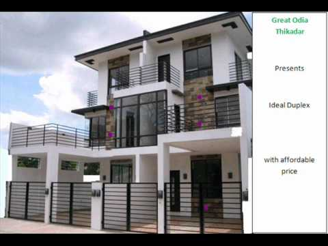 SAMPLE DUPLEX HOUSES FOR CONSTRUCTION