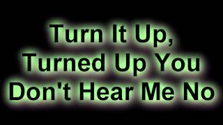 Far East Movement Ft. Cover Drive - Turn Up The Love WITH Lyrics