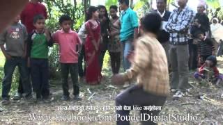 ९ वर्ष को भाई को गज्जब को नाच, Amazing dance by 9 year old boy in nepali baja