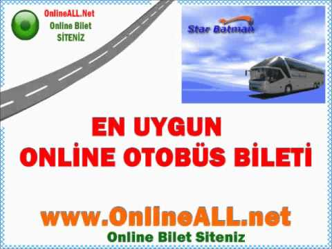 Star Batman Otobüs Bilet Fiyatları -İnternetten Bilet Al OnlineALL.net-Online Otobüs Biletleri