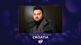 Jacques Houdek - My Friend (Croatia) - THE PUBLIC REVIEW / REACTIONS