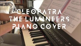 The Lumineers - Cleopatra (piano cover & sheet)