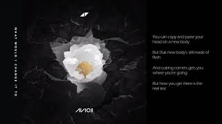 Avicii - What Would I Change It To - Lyrics