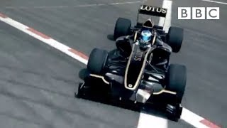 Lotus T125 lesson with Jean Alesi - Top Gear - Series 17 - Episode 5 - BBC Two width=