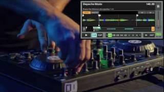 TRAKTOR KONTROL S2: Ean Golden Depeche Mode Live Remix