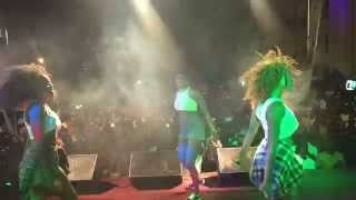 EAZZY GOES WILD AT LEGON GO PAP CONCERT PERFORMACE