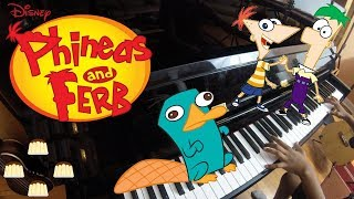 Phineas and Ferb Theme Song | Piano Cover | PuddingPiano |
