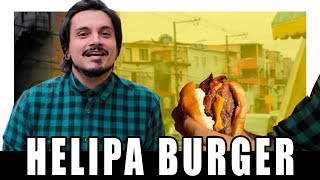 BURGER RESPONSA NA COMUNIDADE - HELIPA BURGER - XEPA!