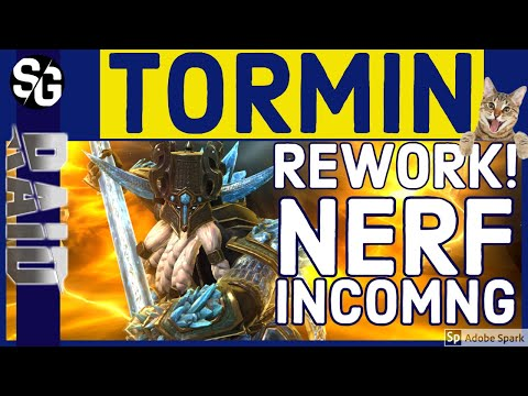 RAID SHADOW LEGENDS | TORMIN REWORK ALREADY! LUL