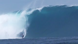 Isei Tokovou at Cloudbreak - 2015 Billabong Ride of the Year Entry - XXL Big Wave Awards