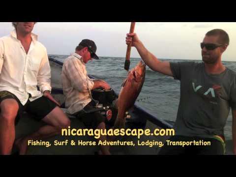 Nicaragua Escape Fishing