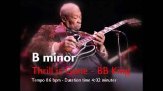 Thrill is Gone | BB King Backing Track