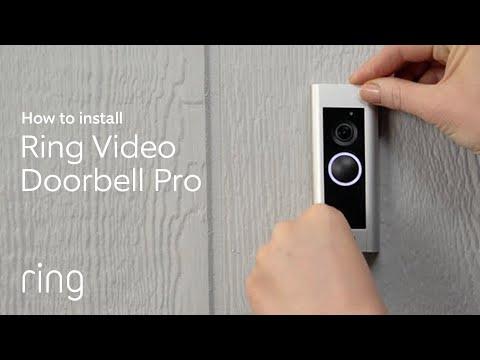 Z Wave Ring Video Doorbell Pro